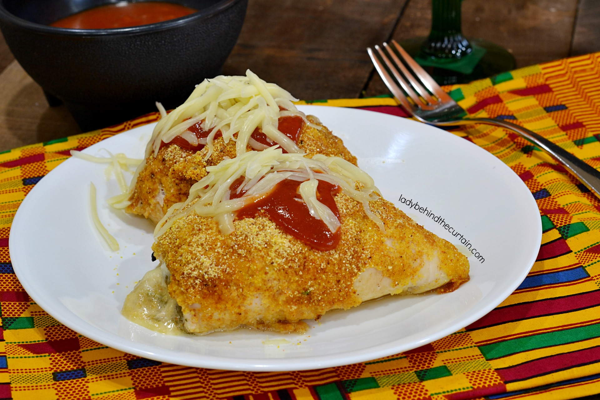 Baked Chicken Chili Relleno