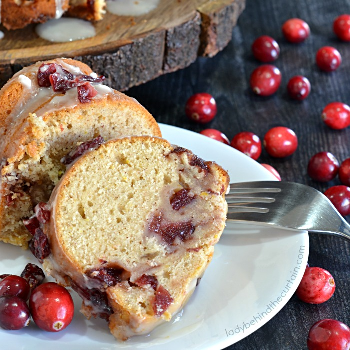 Cranberry Orange Christmas Breakfast Bread