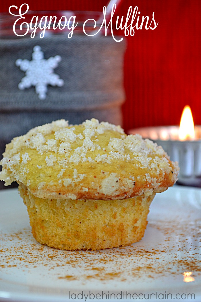 Eggnog Muffins | A favorite seasonal drink is now a muffin!