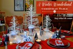 A Country Winter Wonderland Chirstmas Table