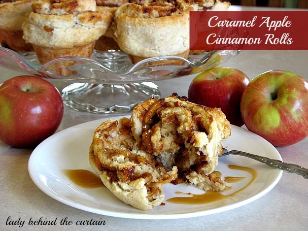 Lady-Behind-The-Curtain-Caramel-Apple-cinnamon-Rolls