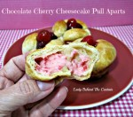 Chocolate Cherry Cheesecake Pull Aparts
