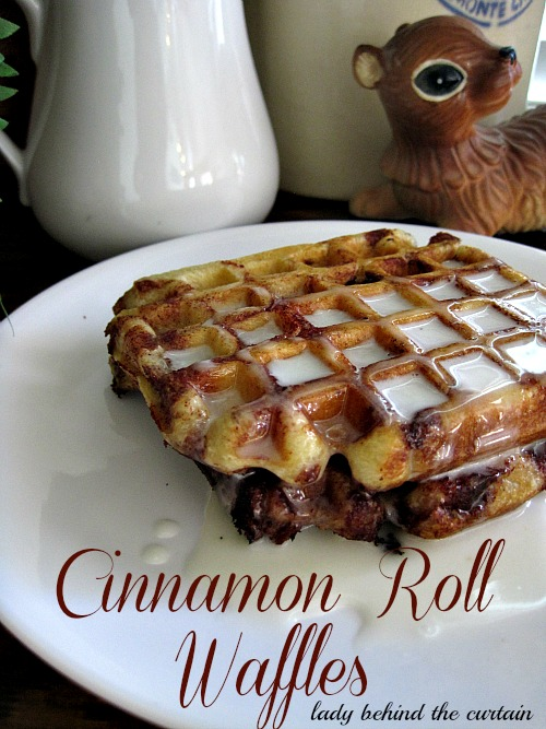 Lady-Behind-The-Curtain-Cinnamon-Roll-Waffles