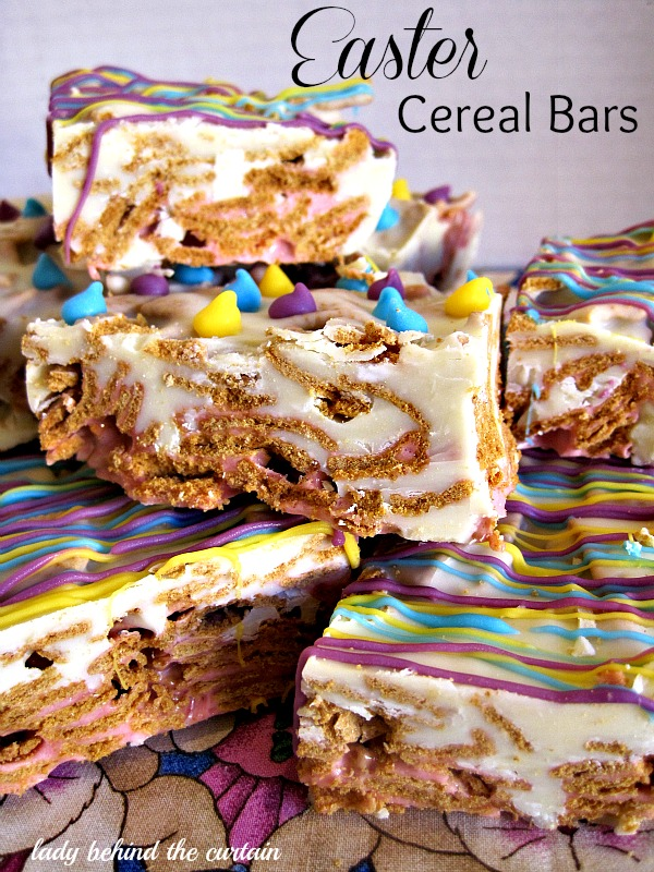 Lady-Behind-The-Curtain-Easter-Cereal-Bars