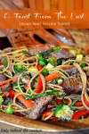 Feast From The East (Asian Beef -Noodle Salad)