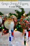 Ginger Snap and Eggnog Cookie Pops