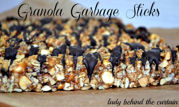 Lady Behind The Curtain - Granola Garbage Sticks