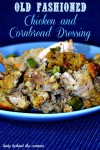 Old Fashioned Chicken and Cornbread Dressing