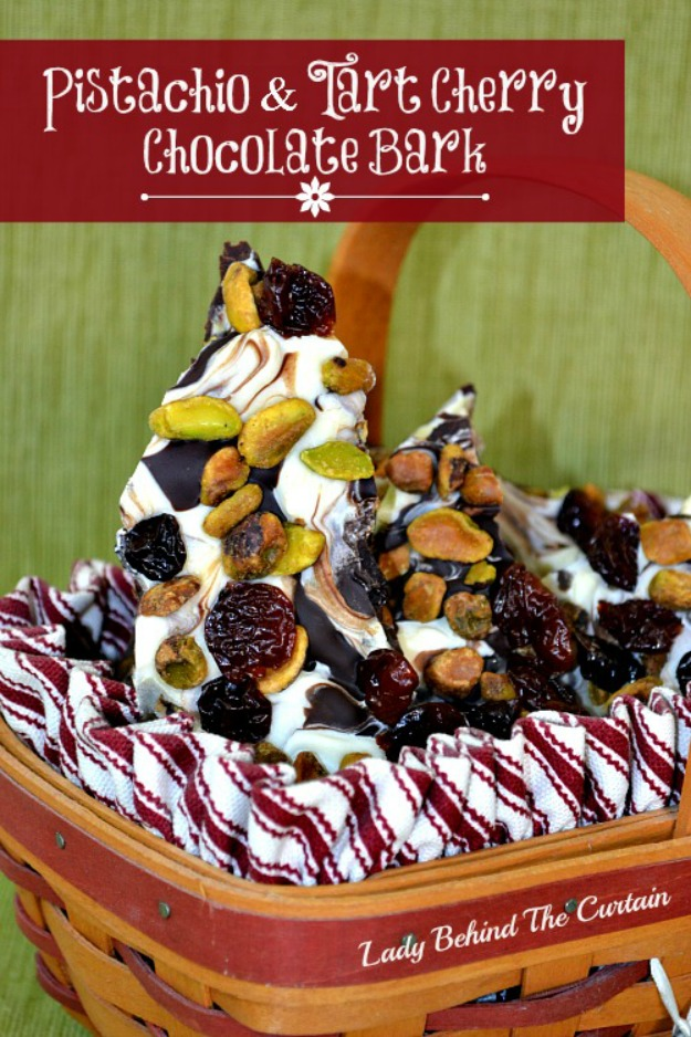 Chocolate Bark With Cinnamon Coated Nuts And Cherries Recipes ...