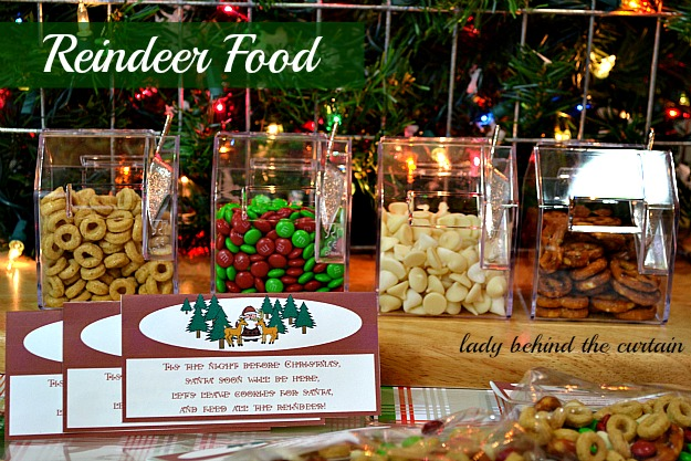 Lady Behind The Curtain - Reindeer Food