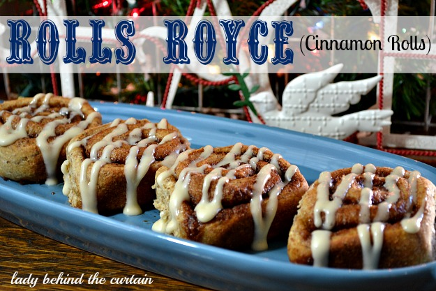 Lady Behind The Curtain - Rolls Royce (Cinnamon Rolls)