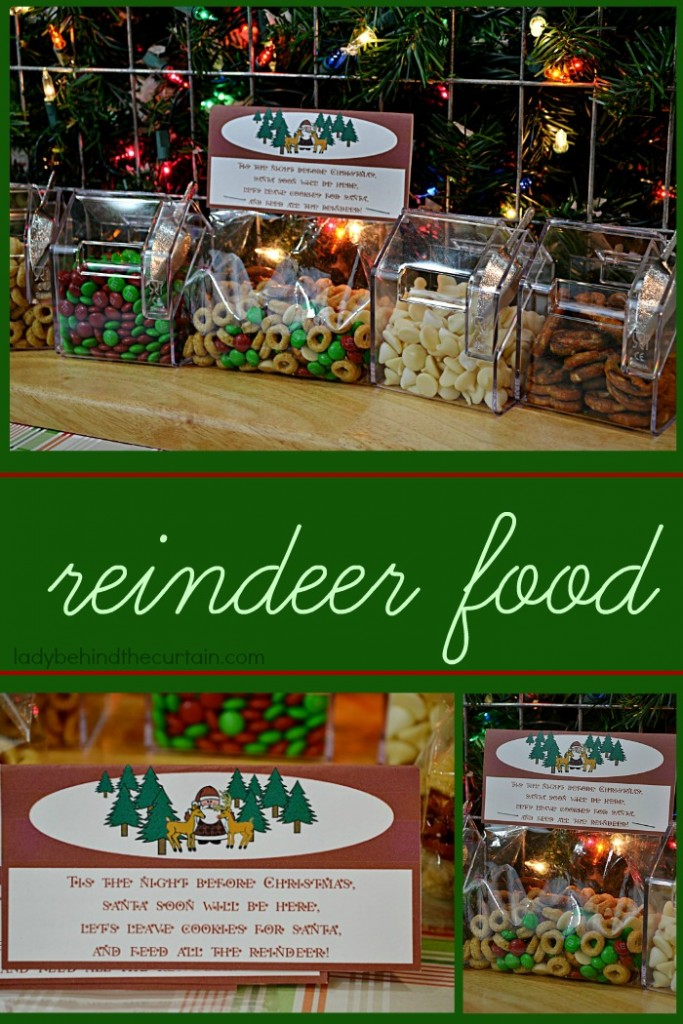 Reindeer Food | A fun activity to do with the kids on Christmas Eve.