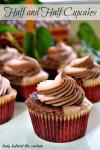 Half & Half Cupcakes