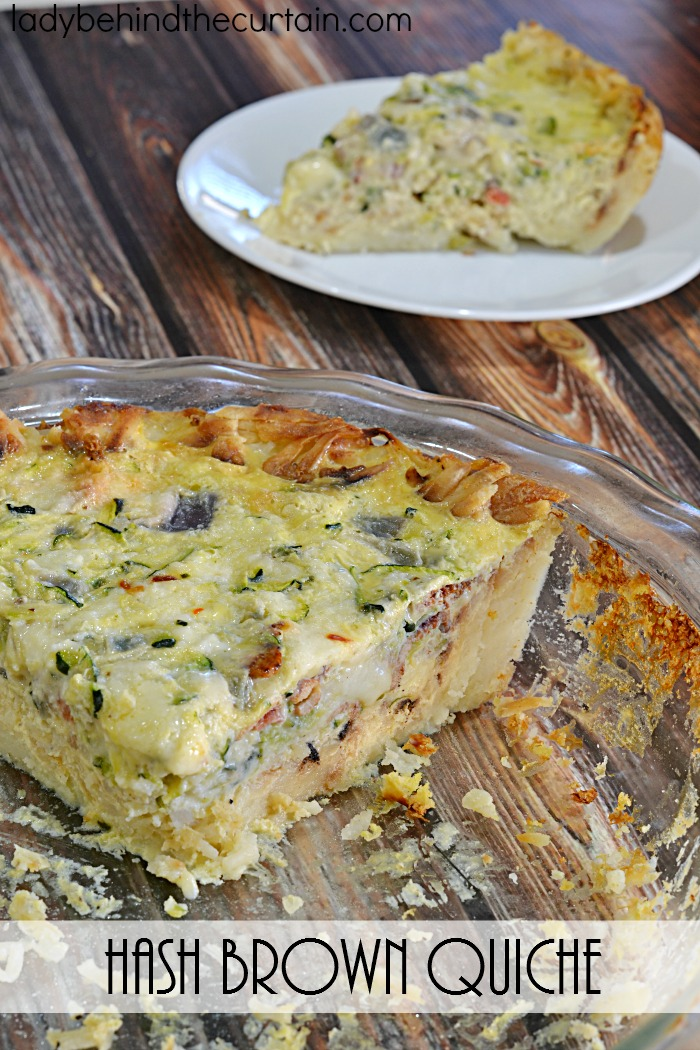 Hash Brown Quiche Casserole