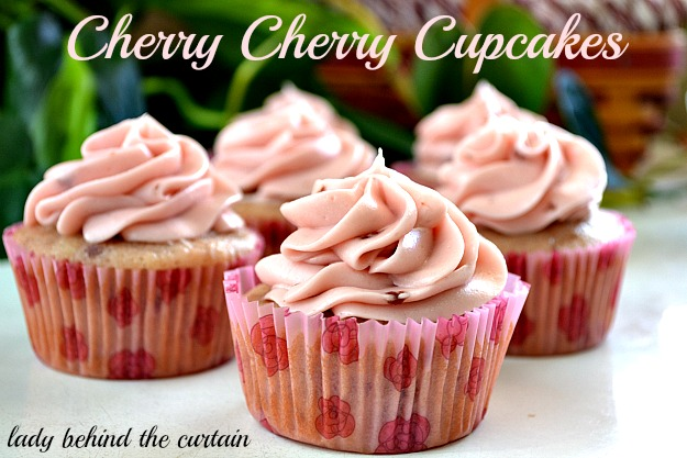 Lady Behind The Curtain - Cherry Cherry Cupcakes