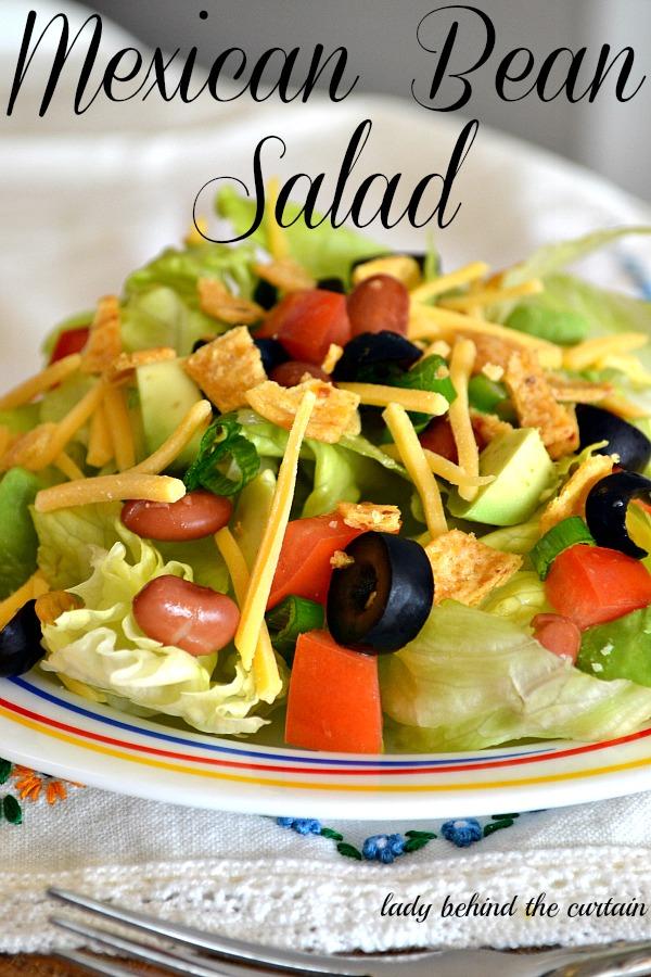 Lady Behind The Curtain - Mexican Bean Salad