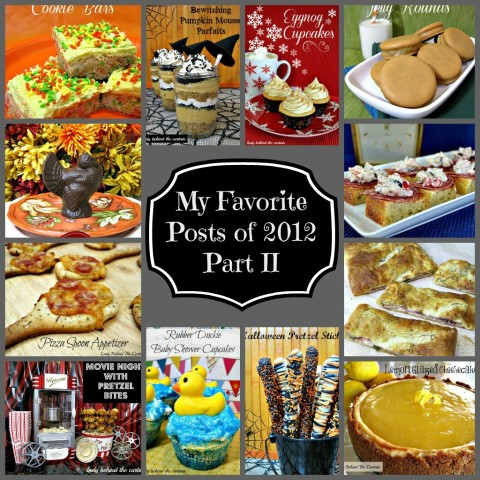 Lady Behind The Curtain - My Favorite Posts of 2012 - Part II