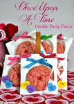 Once Upon A Time Cookie Party Favor