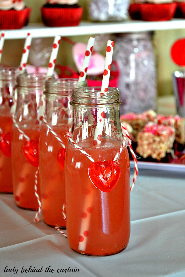 Lady Behind The Curtain - Owl Always Be Your Valentine - Kid's Valentine's Day Dessert Table