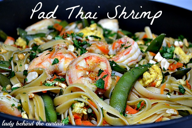Lady Behind The Curtain - Pad Thai Shrimp