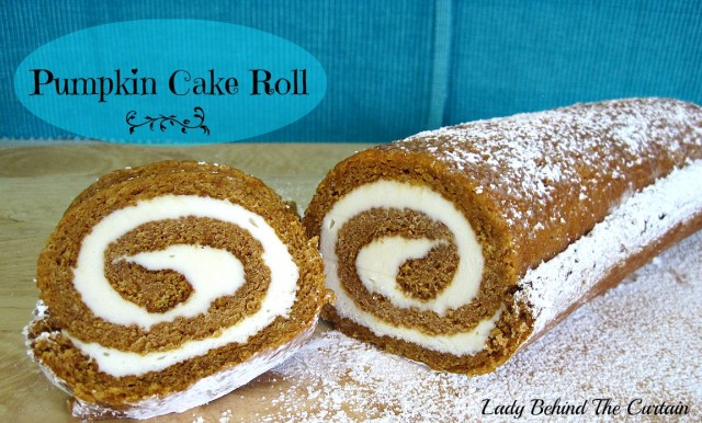 Lady-Behind-The-Curtain-Pumpkin-Cake-Roll