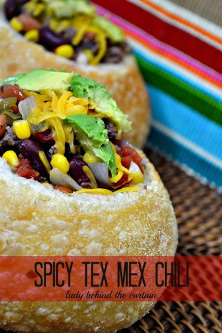 Lady Behind The Curtain - Spicy Tex Mex Chili