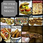 Super Bowl Menu