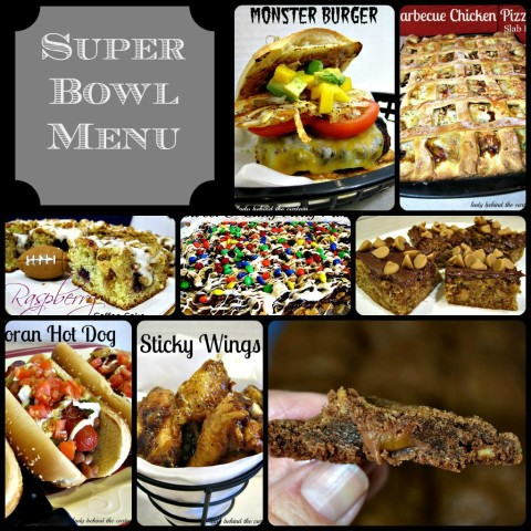 Lady Behind The Curtain - Super Bowl Menu