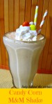 Candy Corn M&M Shake