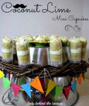 Coconut Lime Mini Cupcakes