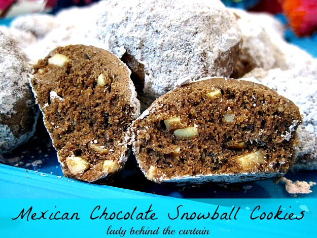 Lady-Behind-The-Curtain-Mexican-Chocolate-Snowball-Cookies