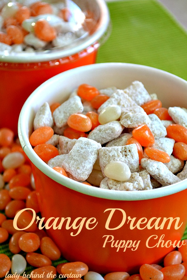 Lady Behind The Curtain - Orange Dream Puppy Chow