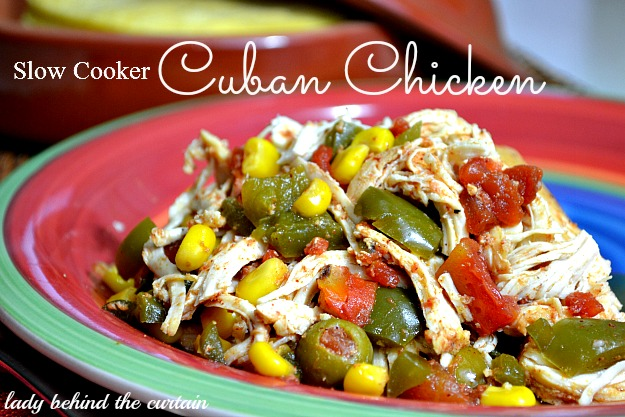 Lady Behind The Curtain - Slow Cooker Cuban Chicken 2