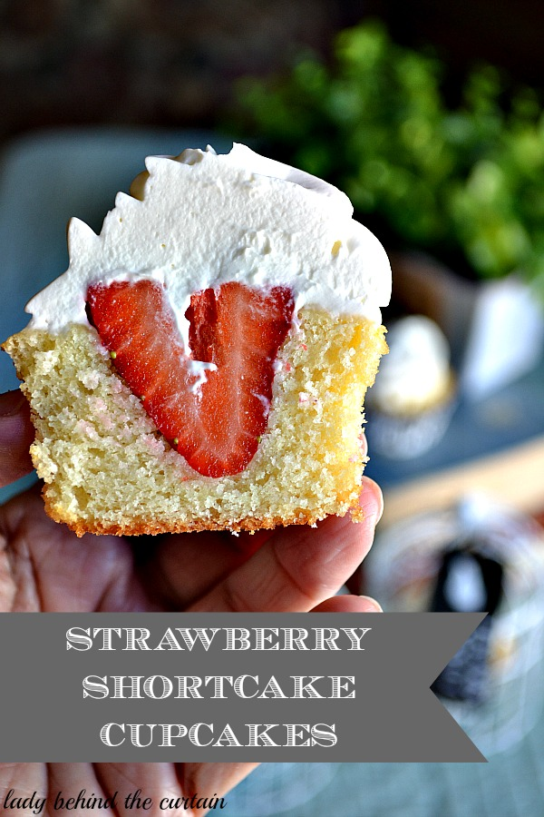 Strawberry Shortcake Cupcakes With Balsamic Whipped Cream Recipes ...