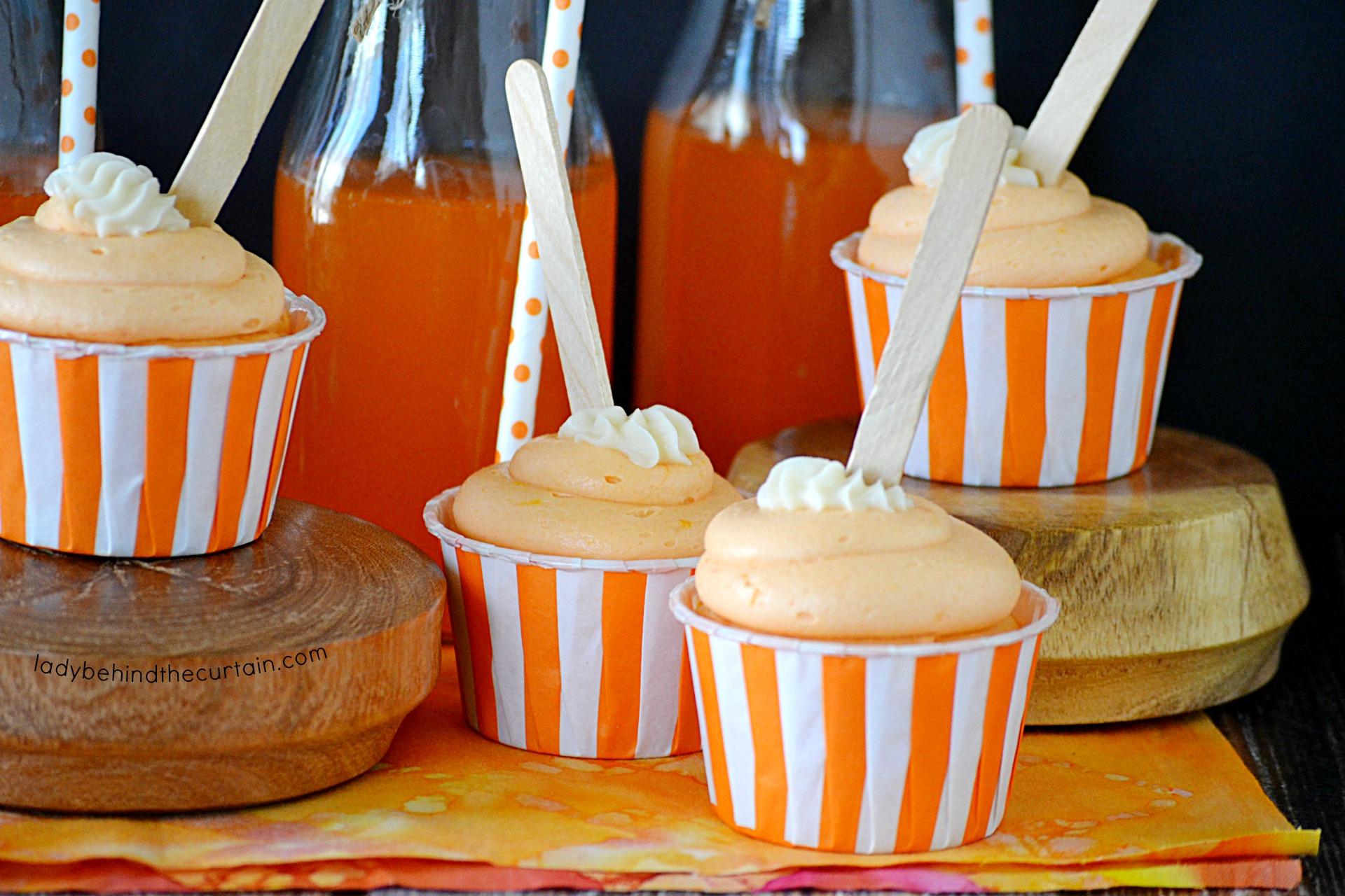 Orange Pop Frosting Recipe