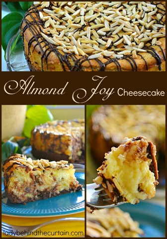 Almond Joy Cheesecake