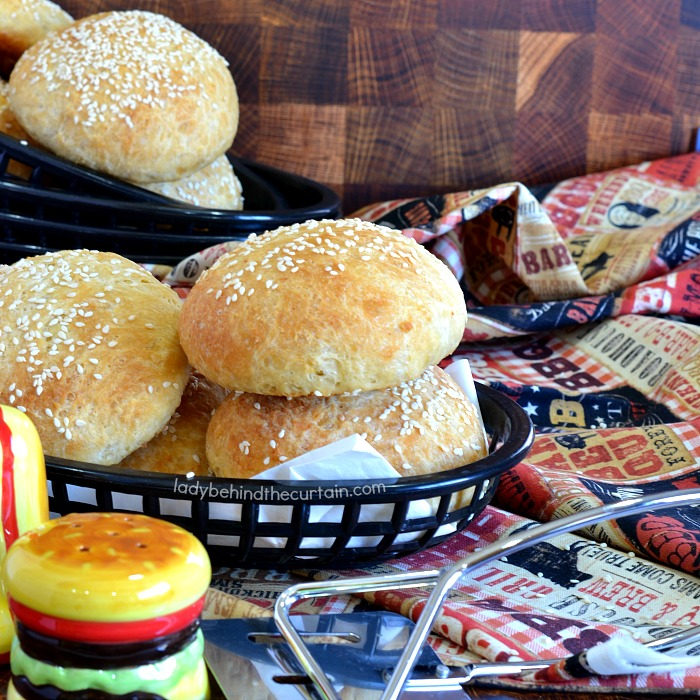 Easy Hamburger Buns