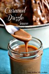 Easy Caramel Drizzle Sauce
