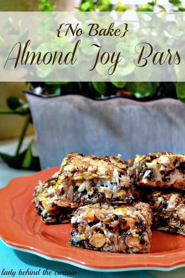 Lady-Behind-The-Curtain-No-Bake-Almond-Joy-Bars