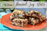 {No Bake} Almond Joy Bars