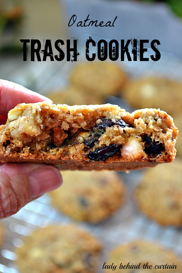 Lady Behind The Curtain - Oatmeal Trash Cookies