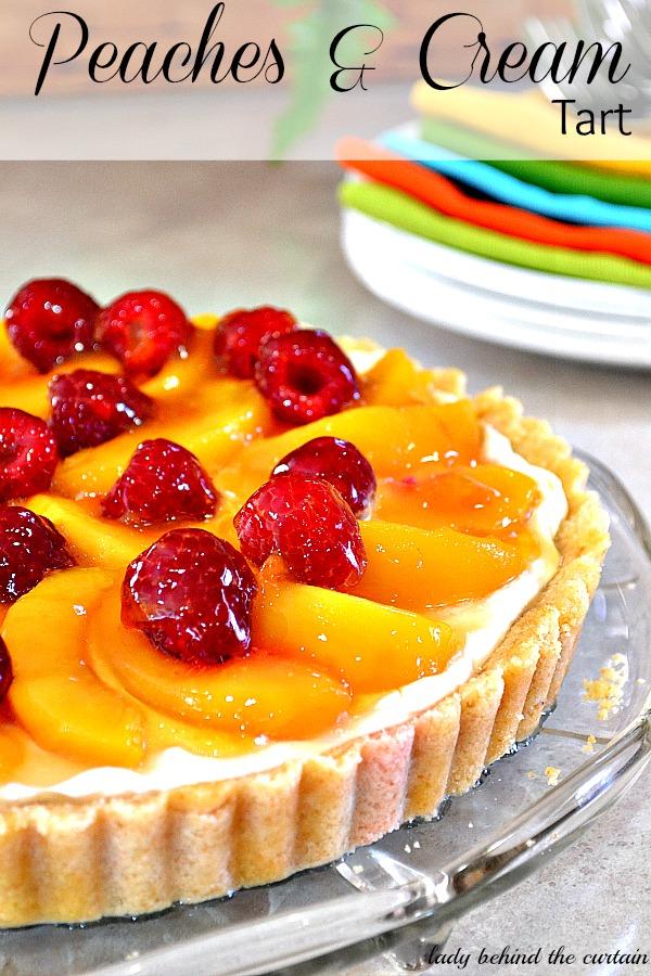 Lady Behind The Curtain - Peaches & Cream Tart