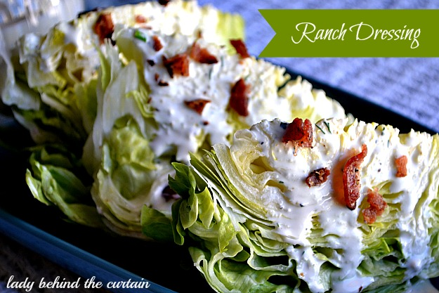 Lady Behind The Curtain - Ranch Dressing