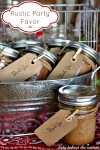 Rustic Party Favor: Banana Bread In a Jar