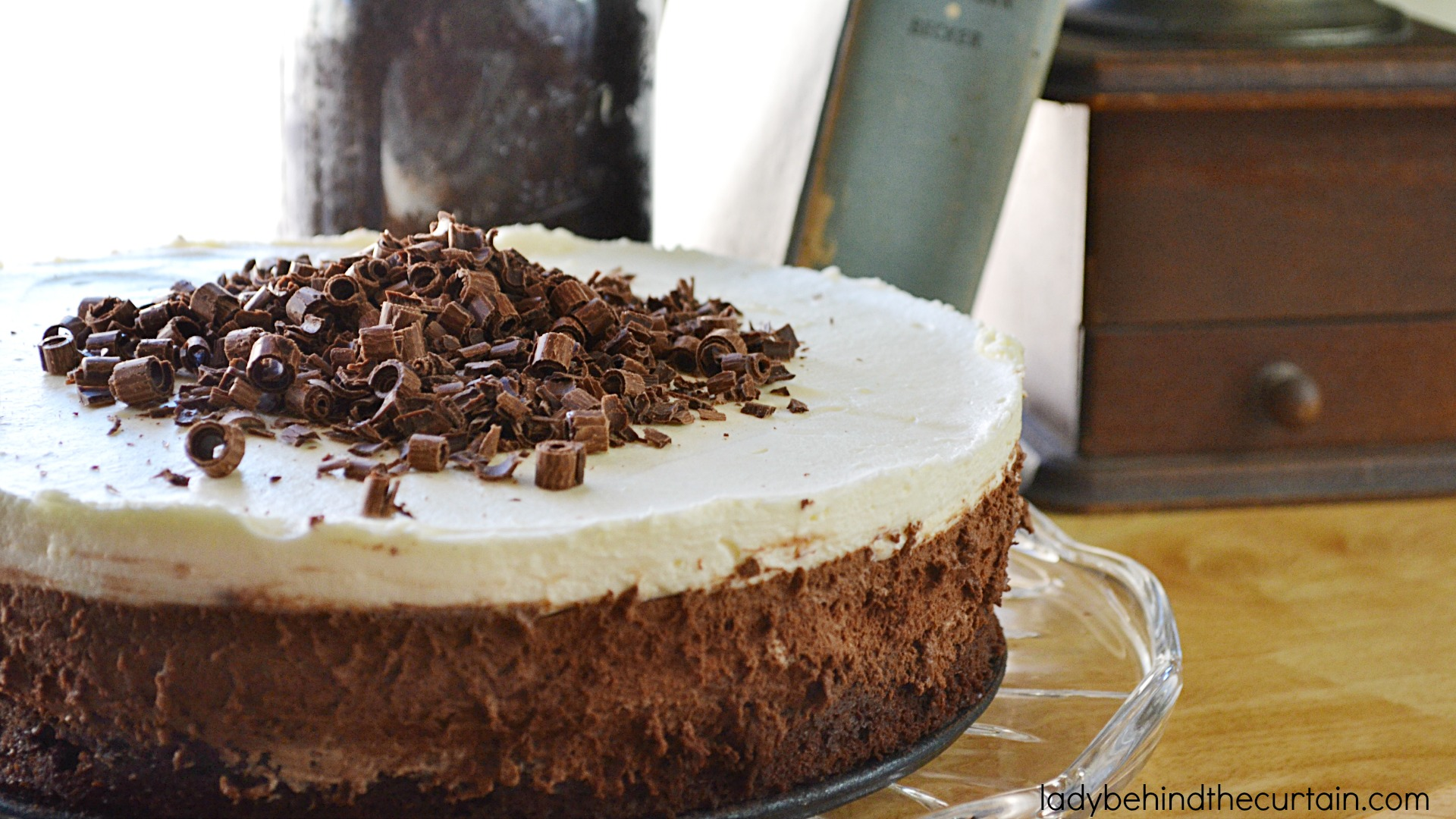 Bittersweet Chocolate Mousse Cake Recipe