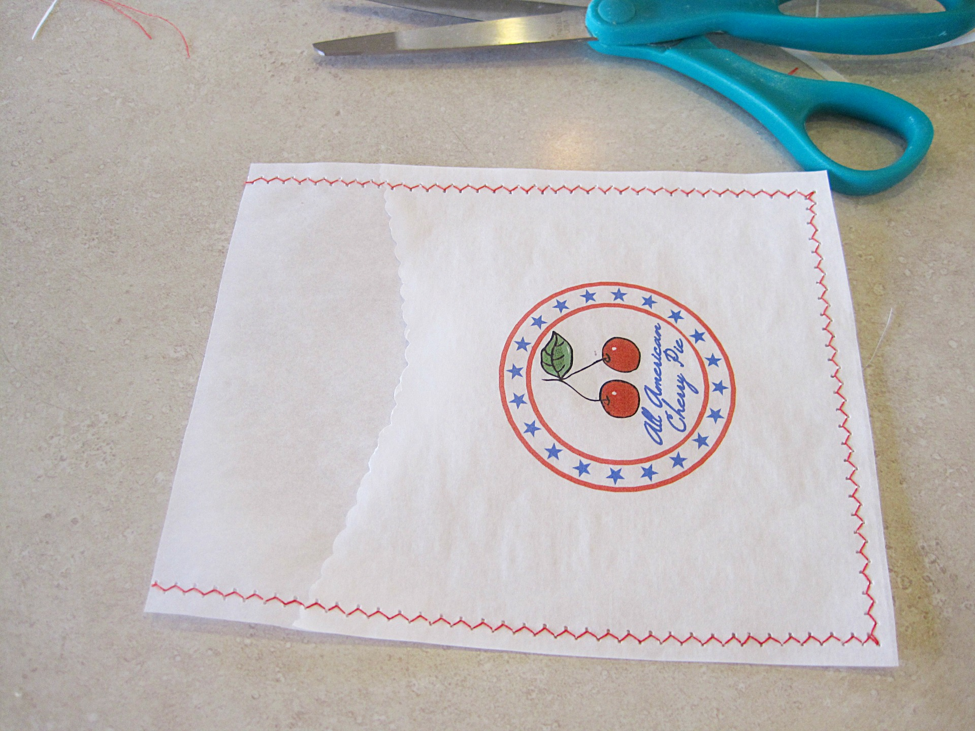 DIY Pie Pouch