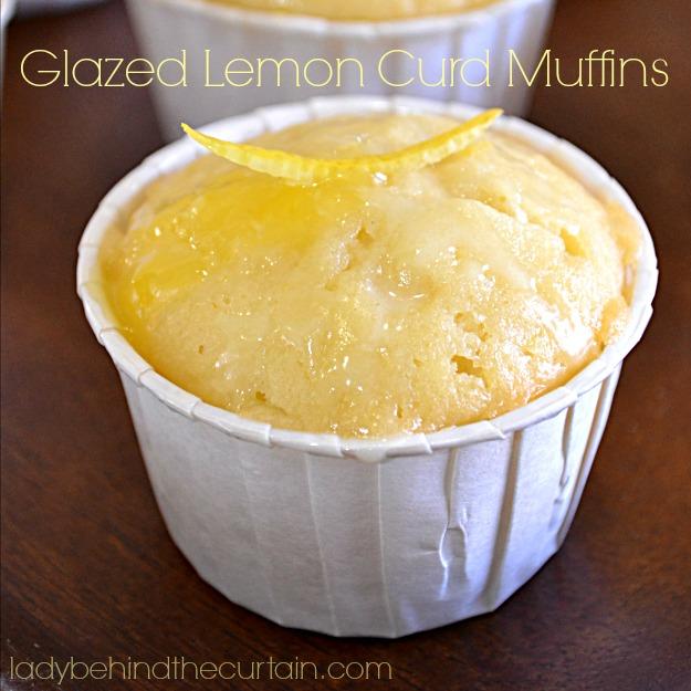 Glazed Lemon Muffins Recipes — Dishmaps