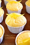 Glazed Lemon Curd Muffins