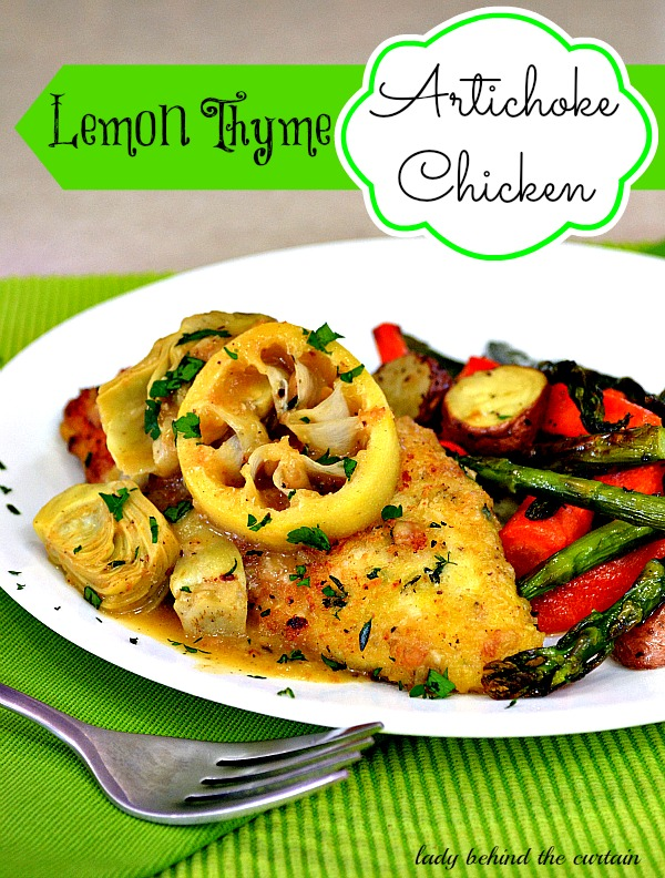 Lady-Behind-The-Curtain-Lemon-Thyme-Artichoke-Chicken