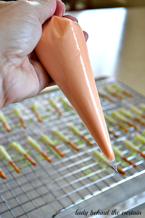 Lady Behind The Curtain - Mini Sherbet Pretzel Sticks